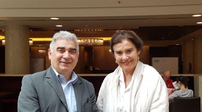 Συνάντηση με την υπουργό Πολιτισμού Λυδία Κονιόρδου είχε ο γραμματέας της ΟΕΚ Νίκος Αθανασιάδης