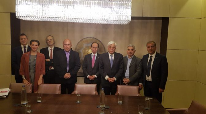 Τον πρόεδρο της Δημοκρατίας συνάντησε ο γραμματέας της ΟΕΚ