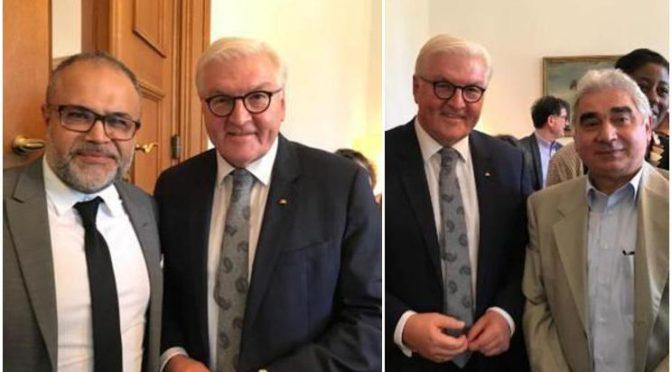 BAGIV trifft Bundespräsidenten Steinmeier im Schloss Bellevue